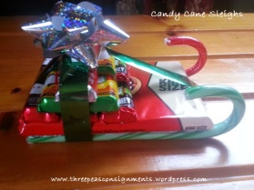 DIY of the Day: Candy Cane Sleighs