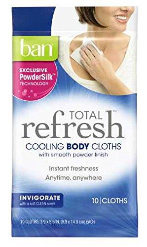 ban cooling cloths
